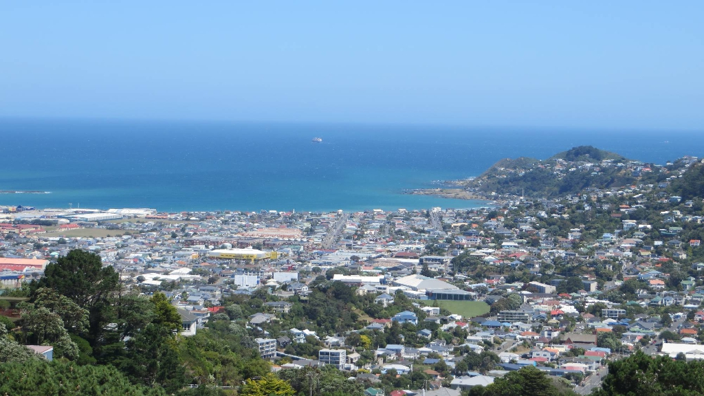 Wellington desde Mt Victoria