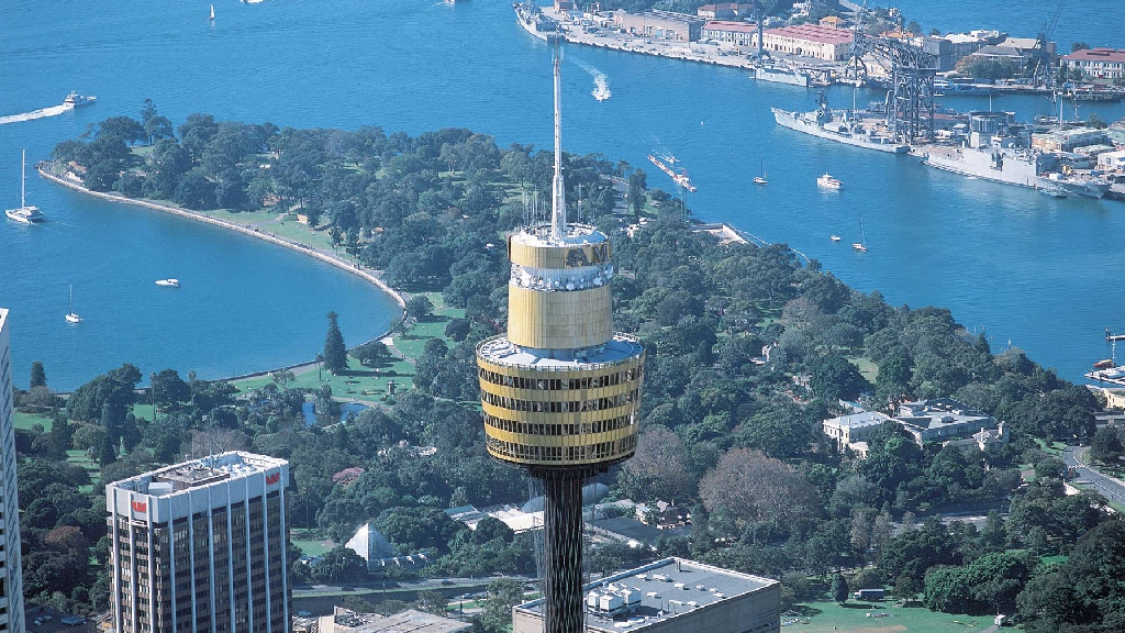 View of Sydney Tower